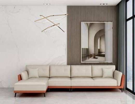 北欧, 现代, 沙发