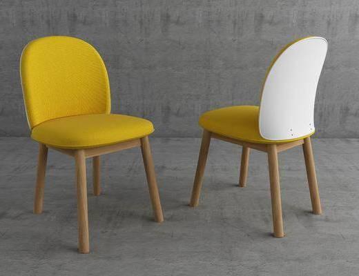 单人椅, 餐椅, 休闲椅, 北欧