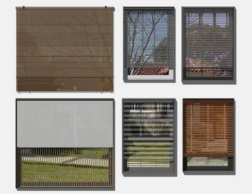 現代, 百葉窗, 單體