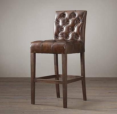 美式简约, 单人椅子, 美式椅子, 椅子, 吧椅