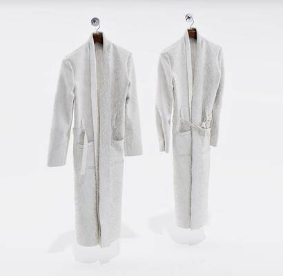 浴袍, 毛巾, 现代