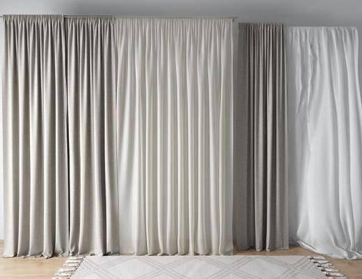 北欧窗帘纱帘