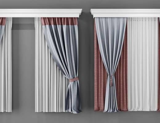 窗帘, 帘, 现代窗帘, 布艺窗帘