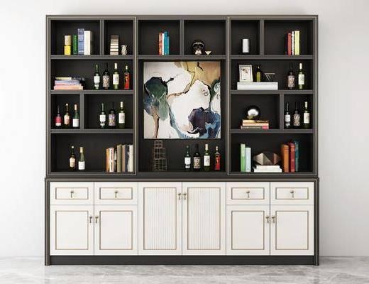 實木酒柜, 紅酒柜, 紅酒架x, 裝飾柜, 酒水柜, 書柜, 邊柜