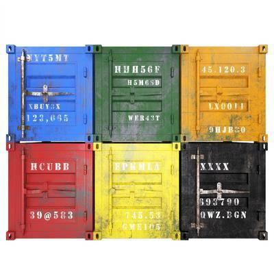 集装箱, 工业风
