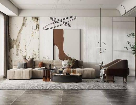 家装, 现代客厅