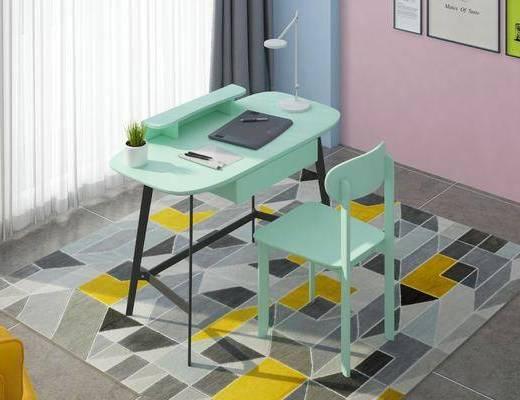 北歐, 書桌, 椅子