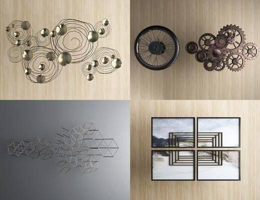 挂件, 墙饰, 装饰品, 新中式