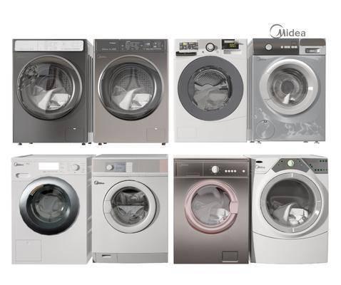 现代家电洗衣机