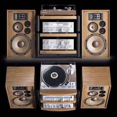 现代, 实木, 音响, 组合