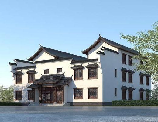 民宿, 客栈, 酒店, 庭院