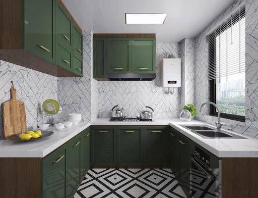 廚房用品, 櫥柜, 碗碟, 裝飾品, 餐具組合