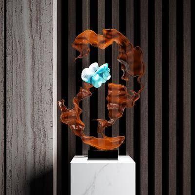 雕塑, 雕刻, 装饰品