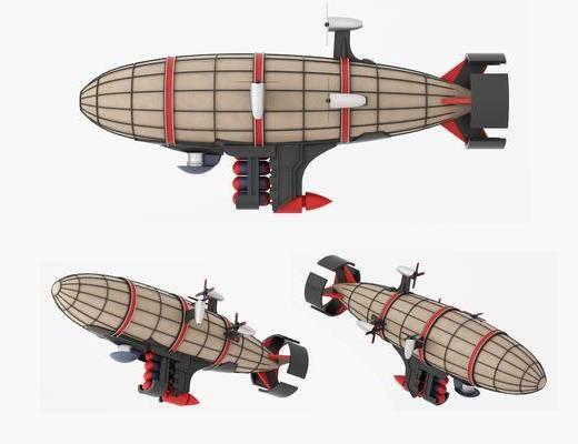 现代, 基洛夫, 空艇