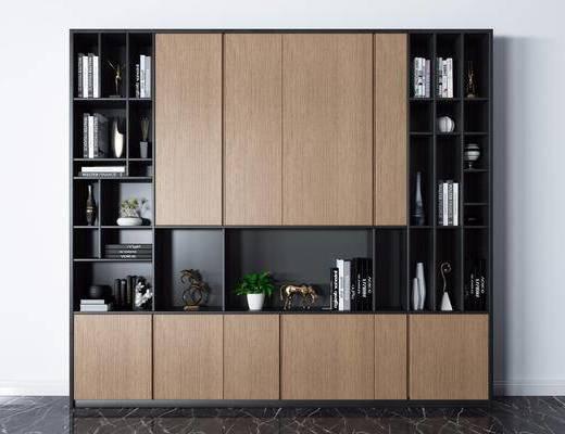 书柜, 书籍, 柜架组合