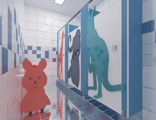 洗手间, 厕所, 幼儿园