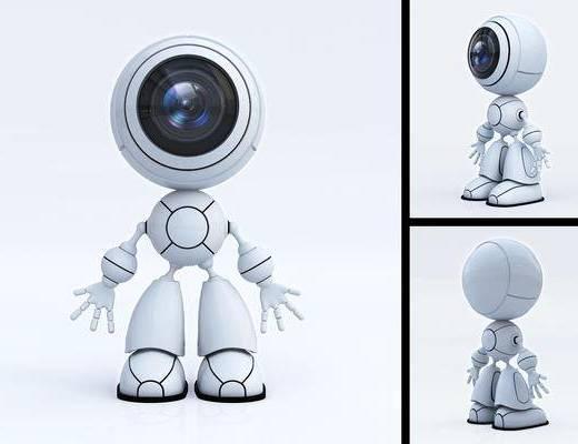 机器人, 科技, 现代, 机械人, 电动