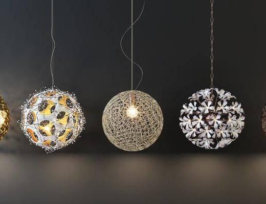 吊燈, 燈具組合, 燈飾