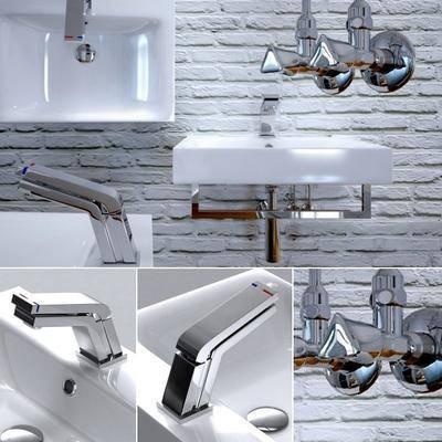 洗手台, 水龙头, 现代