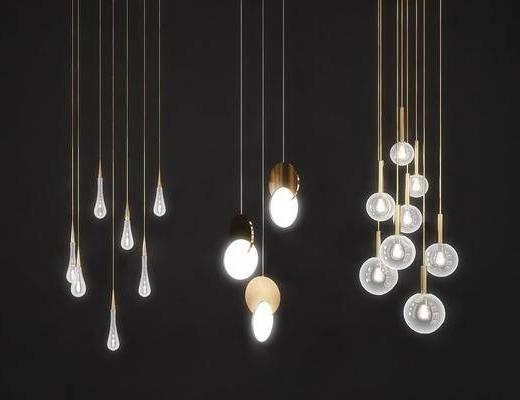 吊燈組合, 個性吊燈, 現代