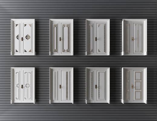 门, 双开门, 子母门, 中式门, 新中式门, 入户门