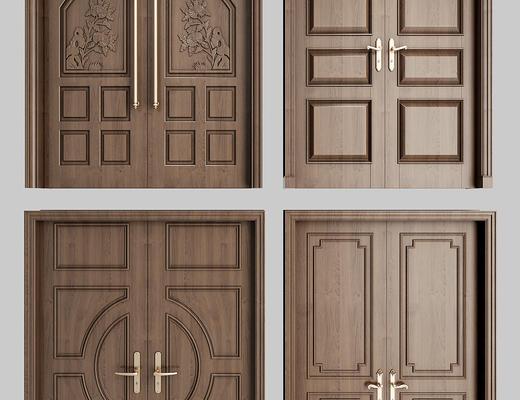 门, 构件