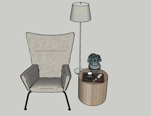 单人沙发, 沙发椅, 休闲椅
