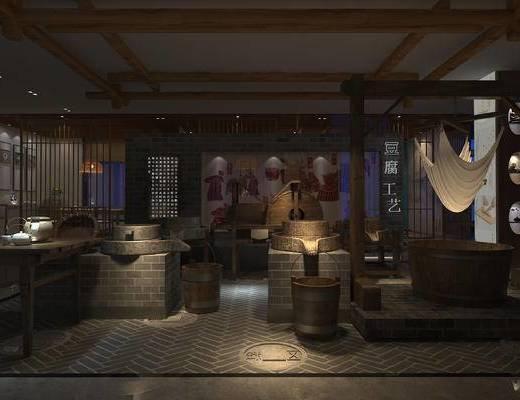 豆腐坊, 餐厅, 中式, 隋朝