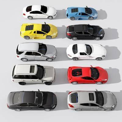 現代車3d模型, 汽車, 機動車