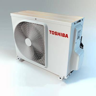 空调外机, 机器, 风扇