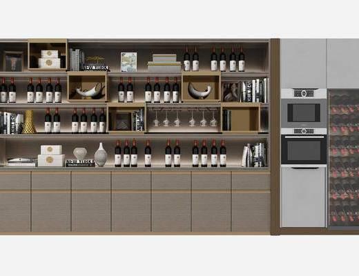現代酒柜, 冰箱