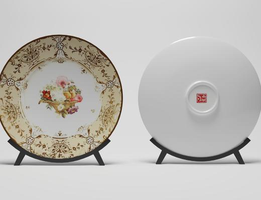 陶瓷装饰品, 陶瓷器皿, 现代