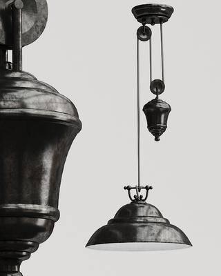 工业风艺术吊灯