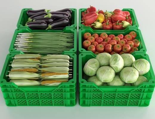 蔬菜, 篮子