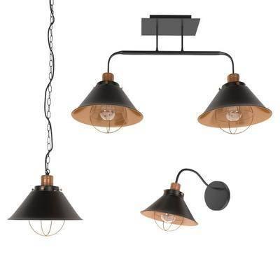 吊灯, 壁灯, 工业国, 现代