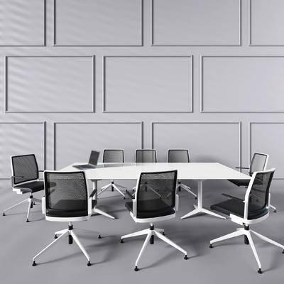 会议室, 会议桌, 办公椅, 椅子, 桌子