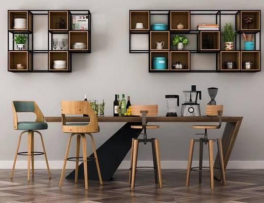北欧简约, 桌椅组合, 置物架, 陈设品组合, 器皿组合, 北欧