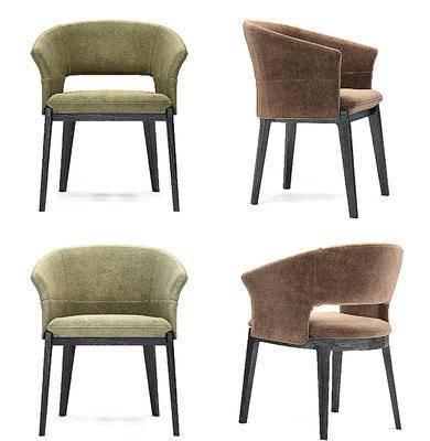 现代单椅椅子餐椅