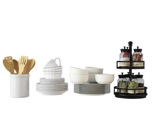 餐具, 生活用具, 现代