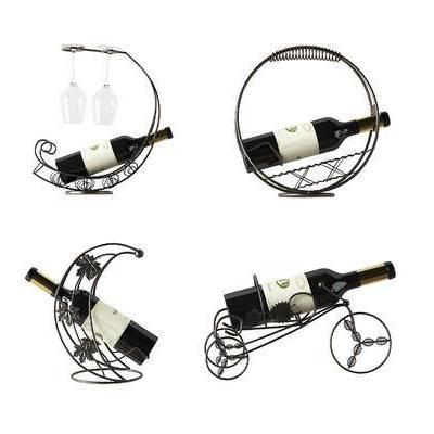 红酒架, 铁艺, 欧式, 现代, 酒瓶, 红酒