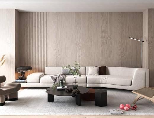 后现代, 沙发, 组合