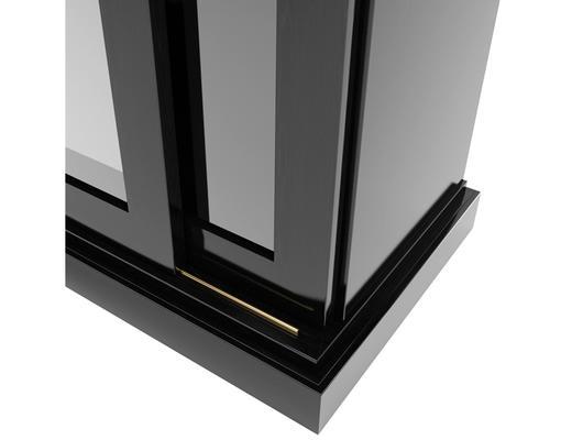 现代简约, 黑色, 衣柜, 现代衣柜