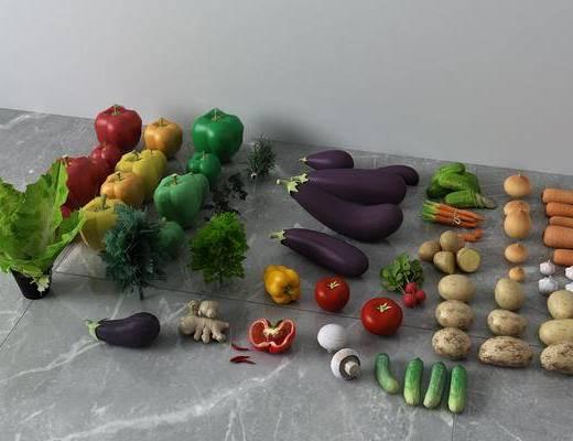 食品, 蔬菜
