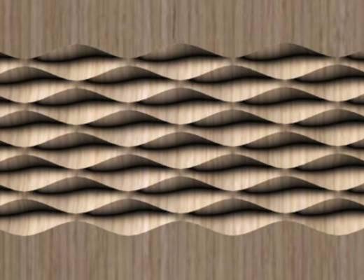 波纹板, 单体