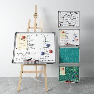 黑板, 画具, 白板