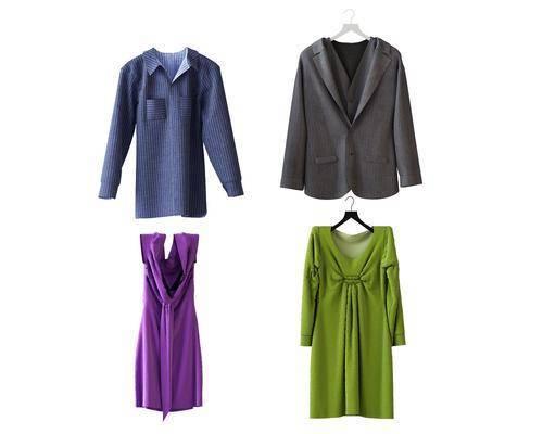 衣服, 服饰, 现代