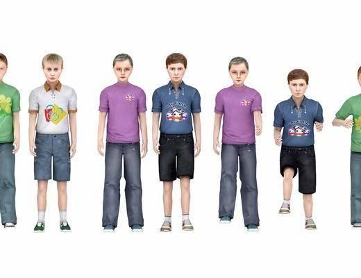 儿童模型, 现代