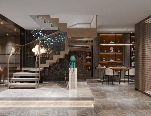 现代, 地下室, 娱乐空间
