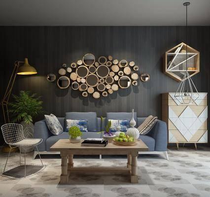 现代沙发, 沙发组合, 沙发茶几组合