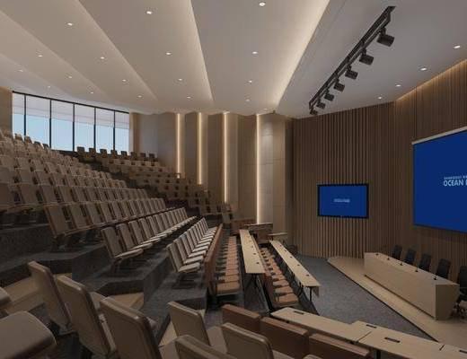 现代, 会议厅, 工装